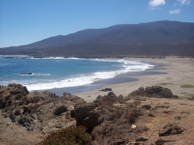 Playa de agua dulce