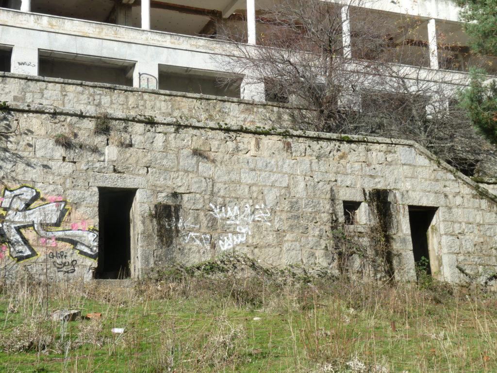 Sanatorio abandonado de Navacerrada