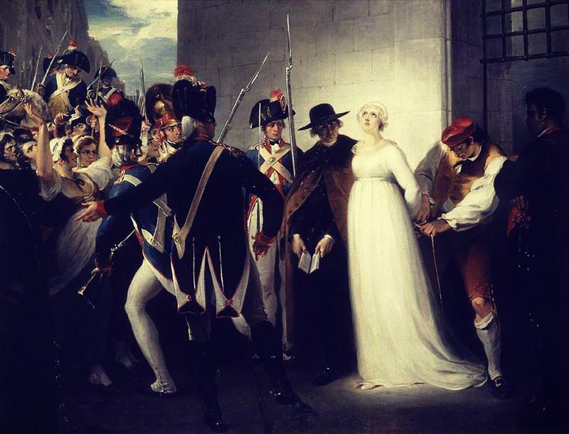 Ejecución de Maria Antonieta