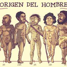 Las teorías más aceptadas para explicar el origen del hombre