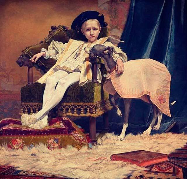 Carlos V niño