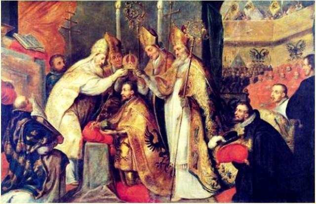 Coronación de Carlos V