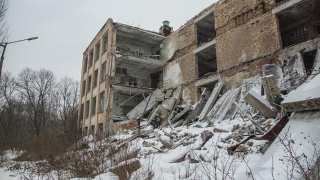 Escuela abandonada Chernobyl