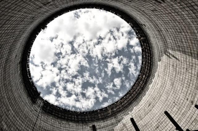 Torre de enfriamiento Chernobyl