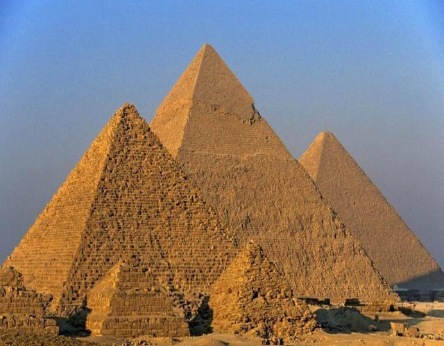 ¿Cómo se construyeron las pirámides?