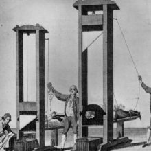 Datos interesantes sobre la guillotina