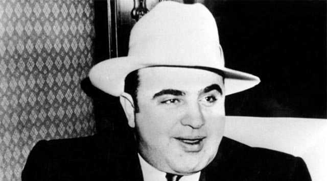 El gánster más conocido, Al Capone