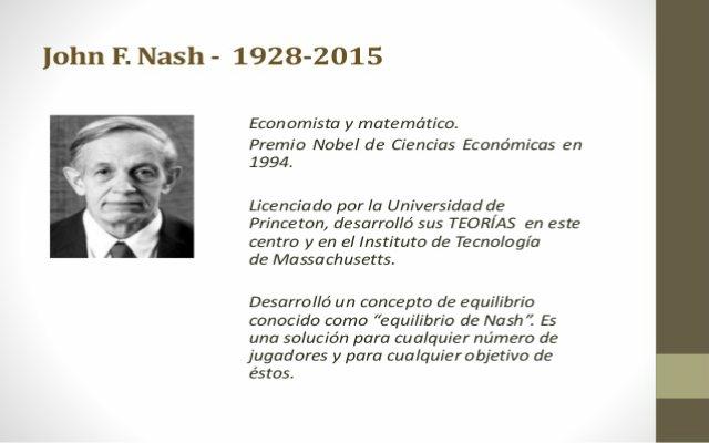 John Nash fue un matemático brillante