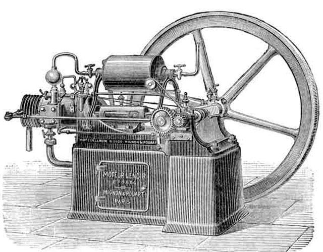 ¡Así funciona la máquina de vapor!