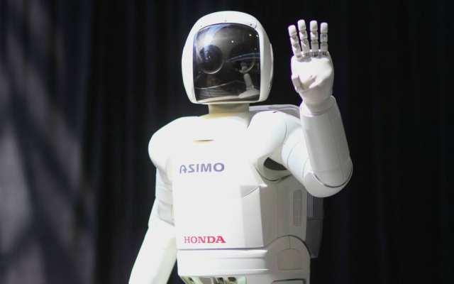 Asimio, el robot humanoide