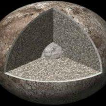 Cómo es la luna, datos de su interior