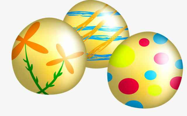 El motivo de los huevos de pascua