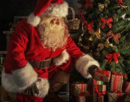 Imágenes de Papa Noel en el tiempo
