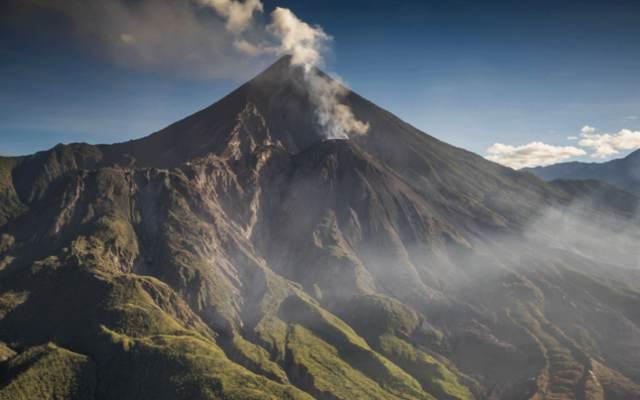 Las erupciones de volcanes más grandes