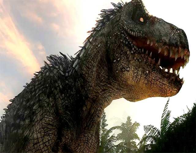 Tiranosaurio con plumas