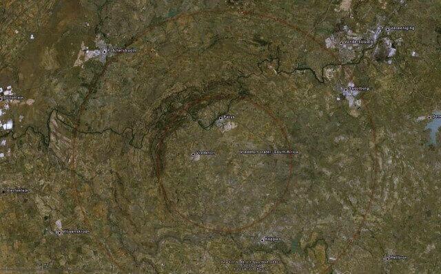 cráteres de meteoritos