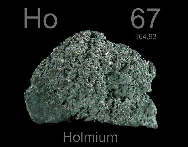 Características del holmio