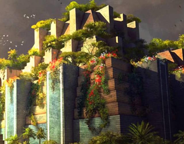 Los Jardines Colgantes De Babilonia