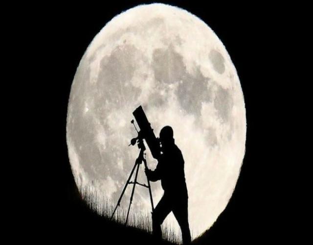 teorías de cómo se formó la luna