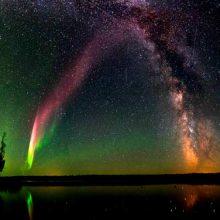 Cómo se forma la aurora boreal