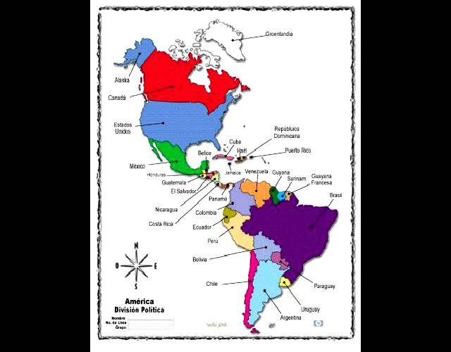 De dónde surgieron los nombres de países americanos