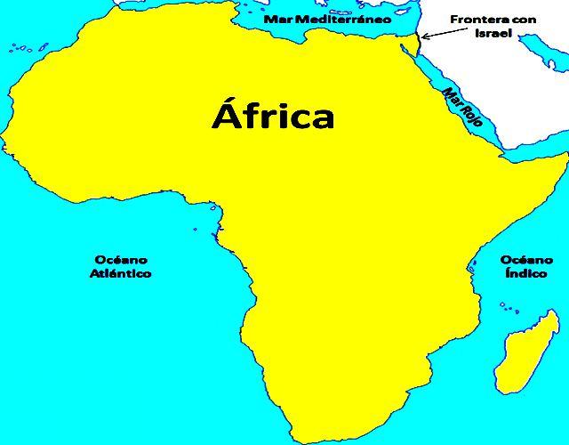 Los países africanos y sus banderas