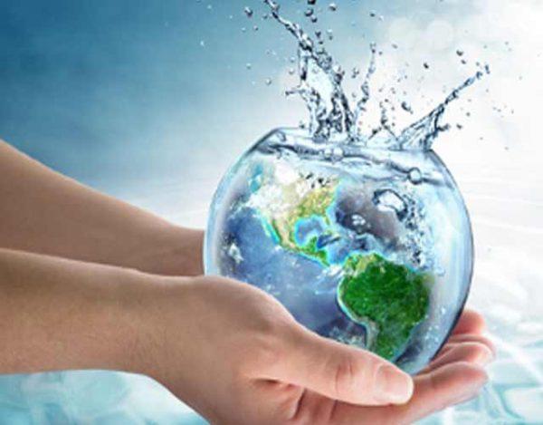 cómo calculan el agua en el mundo