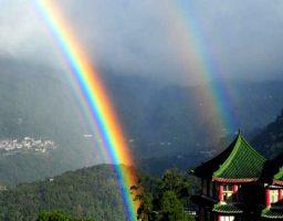 Porque el arcoíris tiene forma de arco