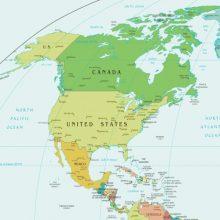 continentes de América