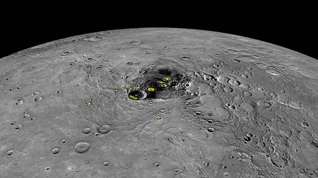 Mercurio se encoje