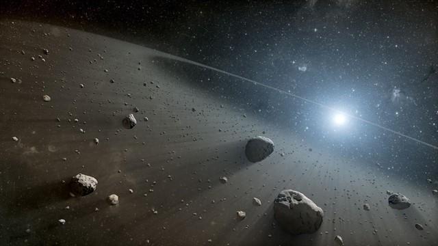 ¿Qué es el cinturón de asteroides?