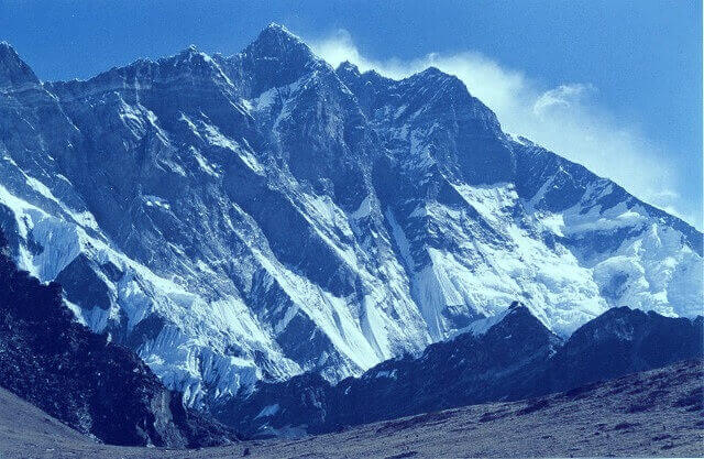 las montañas más altas
