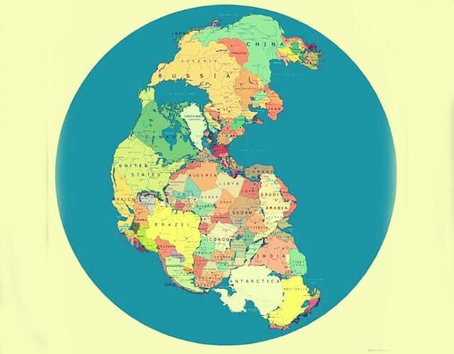 ¿Cómo se formaron los continentes?