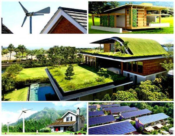 Cómo sería una casa ecológica