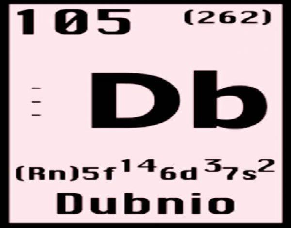 Características del Dubnio