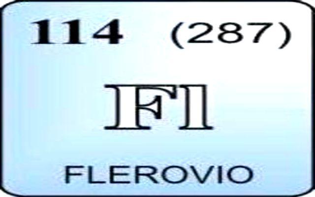 Características del Flerovio