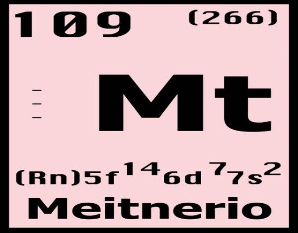 Características del Meitnerio
