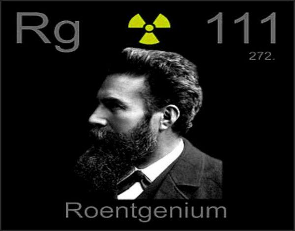 Características del Roentgenio