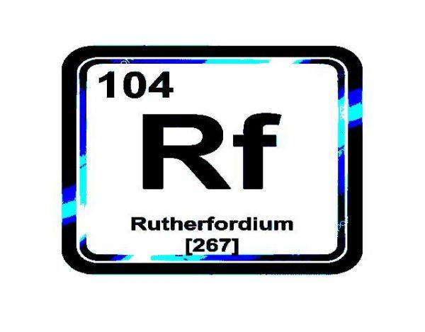 Características del Rutherfordio