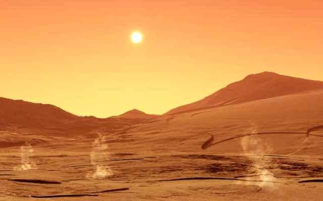 Datos interesantes sobre Marte