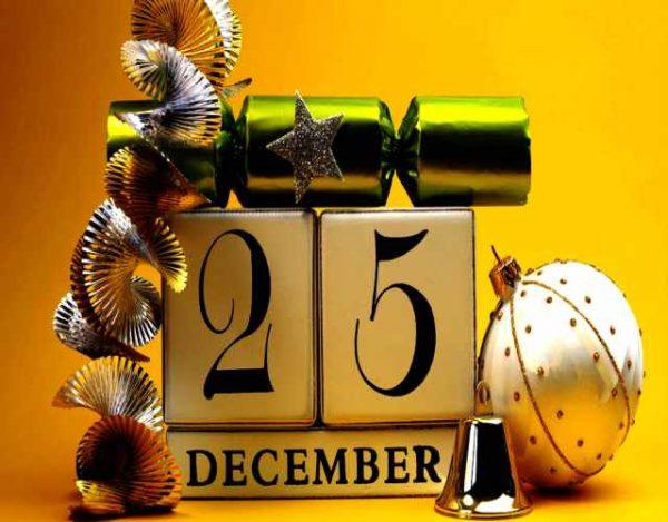 Efemérides del 25 de diciembre