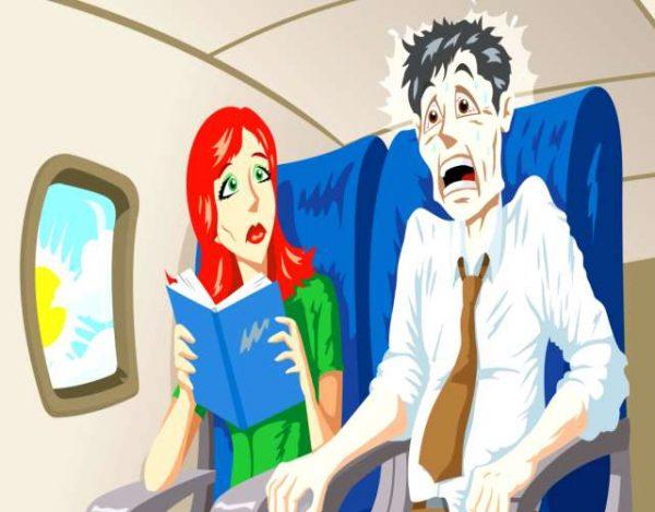 Los 5 principales motivos del miedo a volar