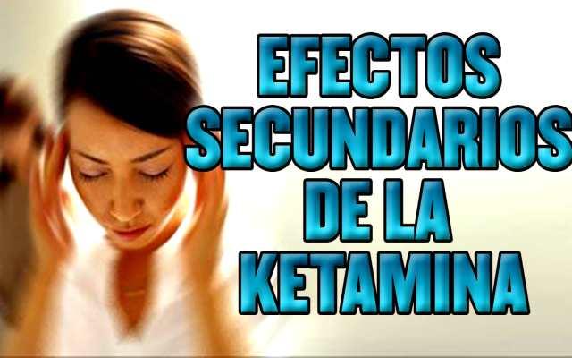Los efectos de la ketamina