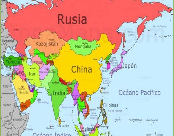 países de asia