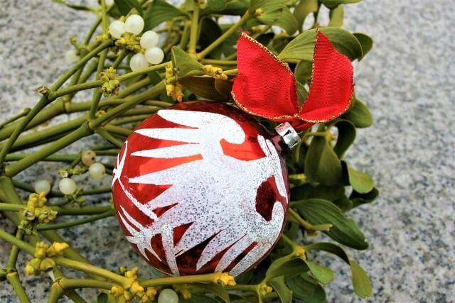 muérdago de navidad