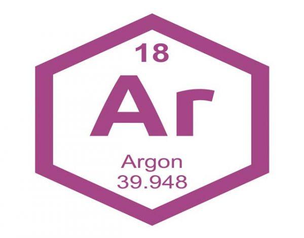 Características del argón