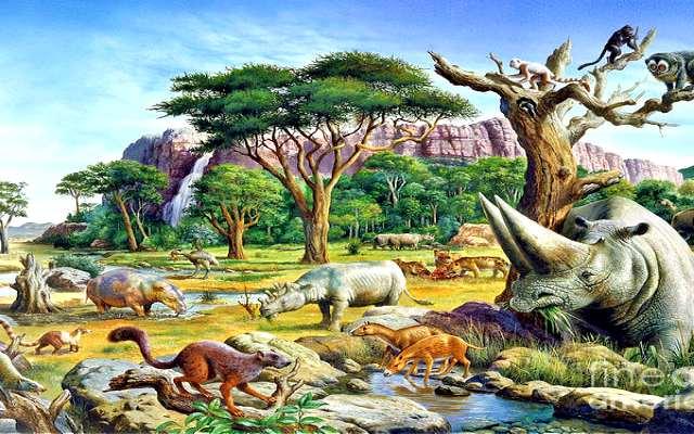 El periodo del holoceno