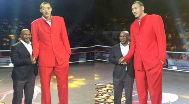 hombres más altos de la historia