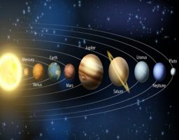 Distancias entre planetas del sistema solar