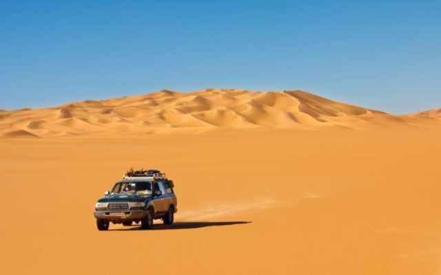 Los 5 desiertos más grandes del mundo